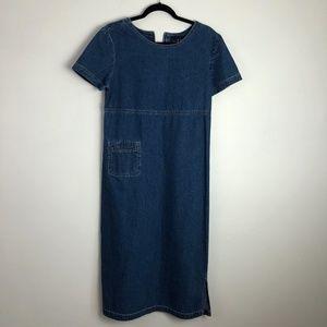 TY Original Wear cotton jean dress size Petite